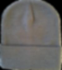 כובע צמר אפור