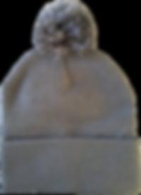 כובע גרב אפור פון פון