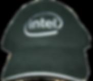 כובע סנדוויץ' עם פס לבן רקום
