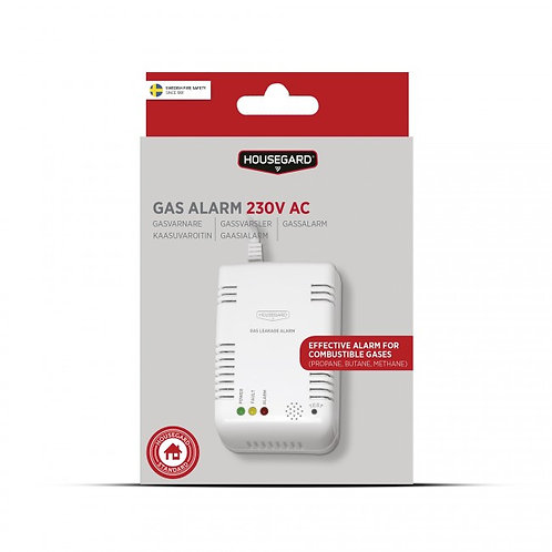 Housegard gassvarsler, 230V