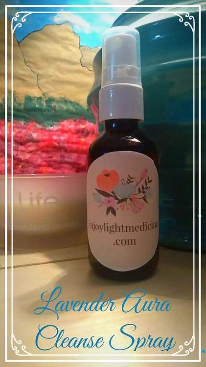 Lavender Aura Cleansing Spray