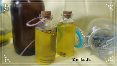 Lavender Infused Bath and Body oil