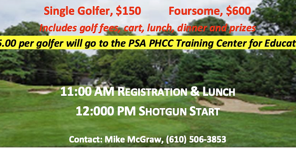 14th Annual Golf Outing