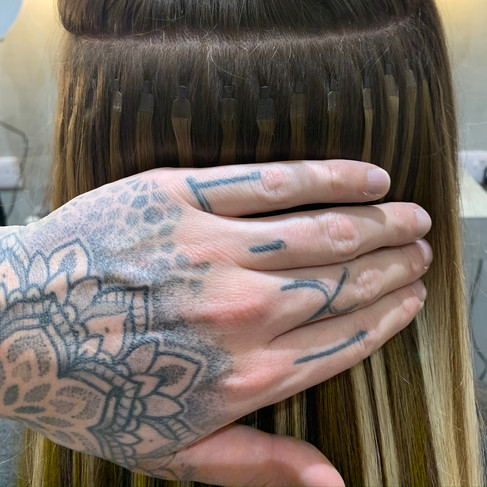 Ultra Tip Hair Extensions   Application   Remi Cachet