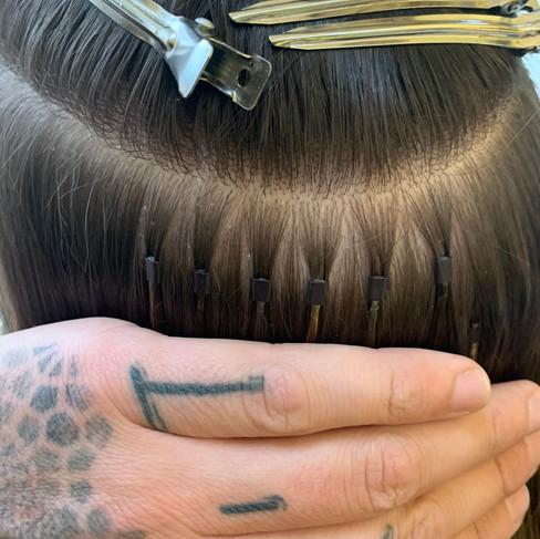 Hair Extension Application | Micro Ring Hair Extensions