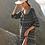 Thumbnail: Micro Dot Shirred  Tunic