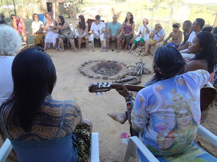 Irmãs Yawanawás em Minas Gerais_ Gratidão Povo Yawanawá!