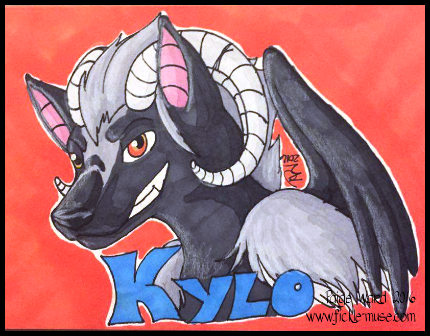 Kylo Badge - Gift