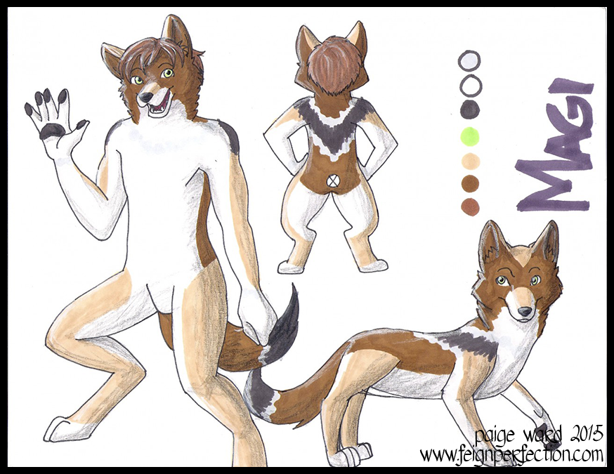 Magi Ref Sheet - Commission