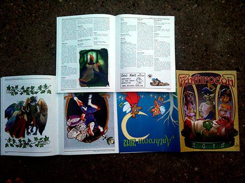 Anthrocon 2012 Conbook Photos
