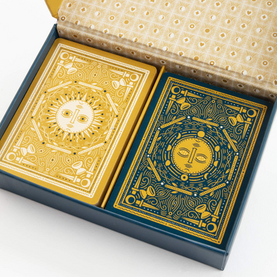 Illuminated Playing Cards_ Two Decks for