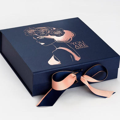 Navy Blue Medium Gift Boxes with changea