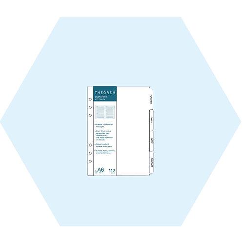 Refill Diary with Calendar A6 (2020)