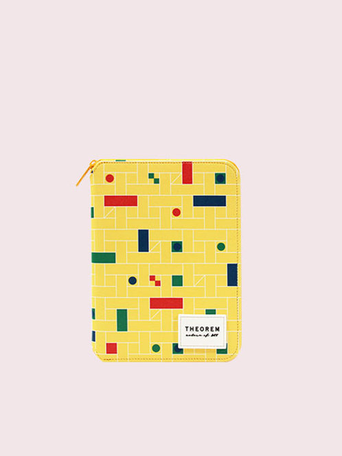 COB zippered Diary A6