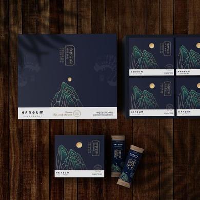패키지 디자인 _ 굼벵이환 제품 패키ᄌ