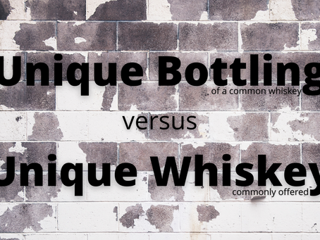 The waters of the bourbon world are so murky
