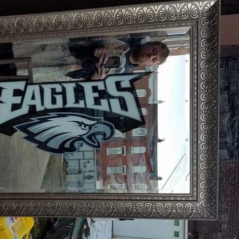 Philadelphia Eagles Custom Mirror
