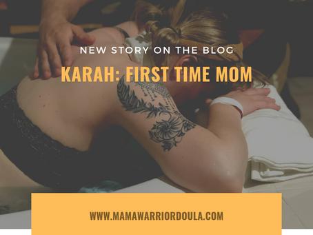 Karah: First Time Parents / Natural Birth