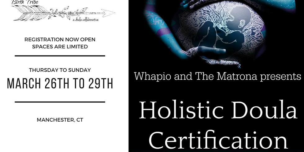 Whapio and The Matrona Presents: Holistic Doula Certification
