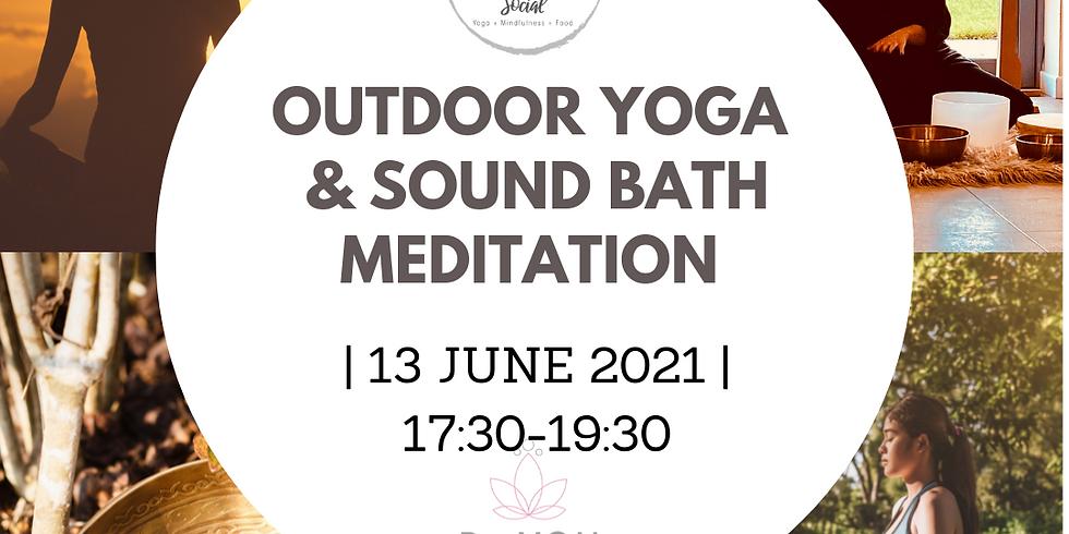 Outdoor Yoga and Sound Bath Meditation- 17:30-19:30, 13 June 2021