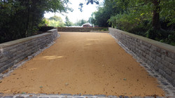 B10 - Resin Bonded Driveway Surfacing at Walton in Chesterfield with Stone Cobble Border