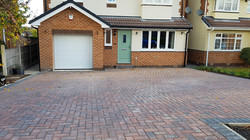 C7 Plaspave Brindle Block Paving Driveway at Walton in Chesterfield