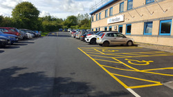 F31  Tarmac Surfacing to Car Park at Sutton in Ashfield in Mansfield
