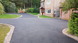 D4  Tarmac Driveway Surfacing with Brindle Block Border at Walton in Chesterfield