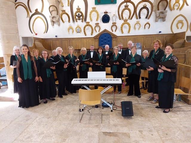 Singing at Oakham Castle