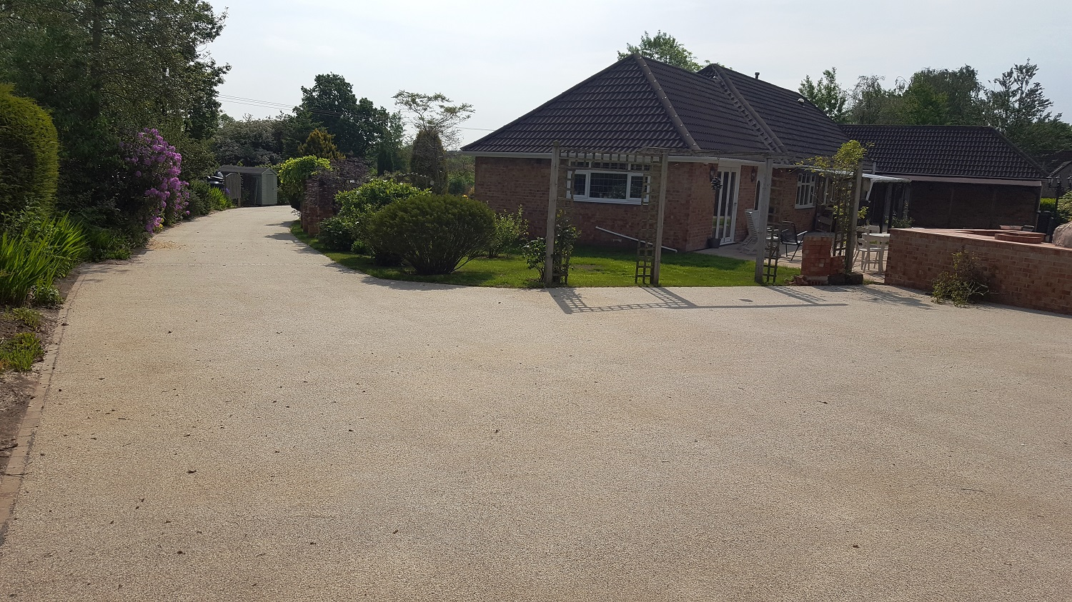 B4a - Resin Bonded Driveway Surfacing at Wingerworth in Chesterfield
