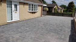 C35 Plaspave Premia Granite Stone Block Paving Driveway at Linacre Woods in Chesterfield