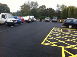 F43  Tarmac Surfacing to Car Park at Pinxton