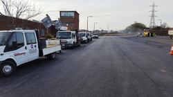 F8 Tarmac Surfacing to Car Park at M1 Junction 29A in Chesterfield
