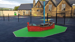 P7 Soft Play Area Surfacing at Ashover Primary School in Ashover