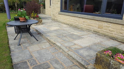 H15 Stone Paving Patio at Somersall, Chesterfield