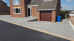 C8 Plaspave Modena Granite Stone Block Paving Driveway at Inkersall in Chesterfield