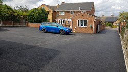 D49  Tarmac Driveway Surfacing  at Pilsley in Chesterfield