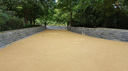 B10a - Resin Bonded Driveway Surfacing at Walton in Chesterfield with Stone Cobble Border