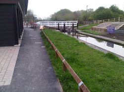 P11 Tarmac Footpath Surfacing to Canal Path at Hollingwood in Chesterfield