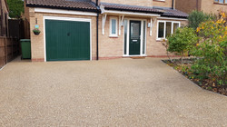 R1 - Chocolate Mix Resin Bound Driveway Surfacing at Walton in Chesterfield