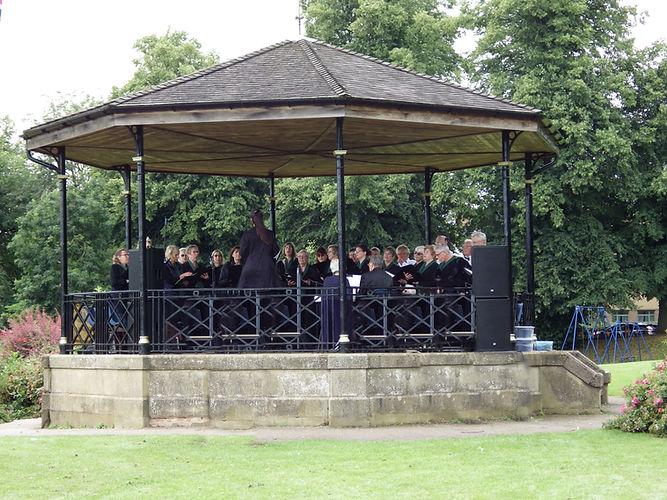 Rutland Choir at The Band Stand