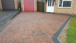C20 Plaspave Brindle Block Paving Driveway at Walton in Chesterfield