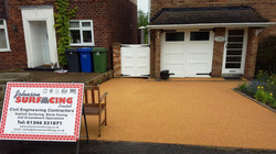 B7d - Resin Bonded Driveway Surfacing at Somersall in Chesterfield