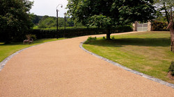 B7a - Resin Bonded Driveway Surfacing at Wingerworth in Chesterfield
