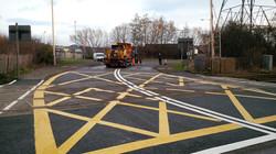 F67 Tarmac Road Surfacing to Network Rail Level Crossing
