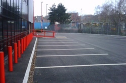 F10 Tarmac Surfacing to Matalan Car Park in Chesterfield