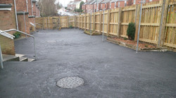 P8 Tarmac Surfacing to Drying Area at Old Whittington in Chesterfield
