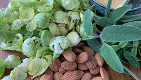 Brussels Sprouts with Almonds and Sage Butter