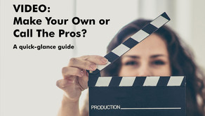 Make Your Own Vs Professional Video