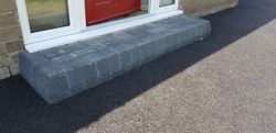 D31  Charcoal Block Step at Brampton in Chesterfield